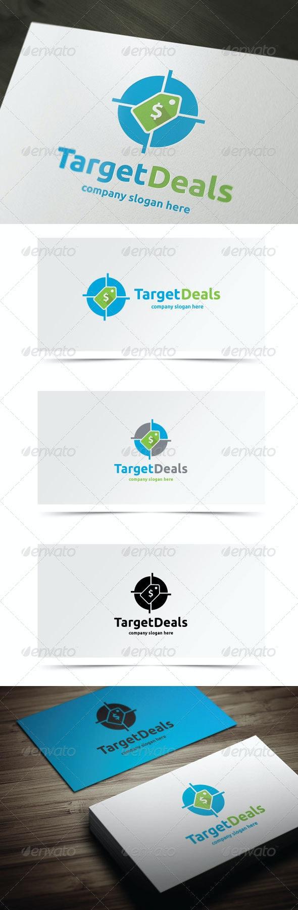 Target Deals - Objects Logo Templates