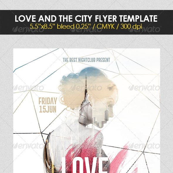 Love and the City Flyer Template