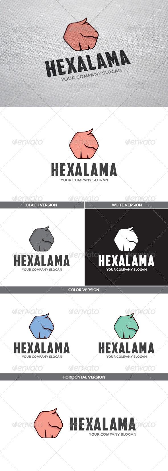HexaLama Logo - Animals Logo Templates