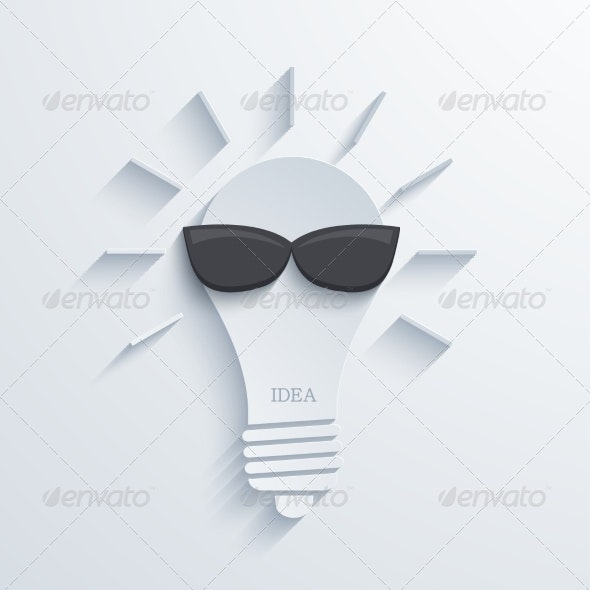 Vector Modern Idea Background - Concepts Business
