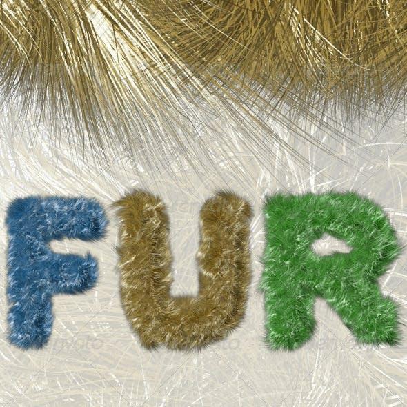Fur Alphabet