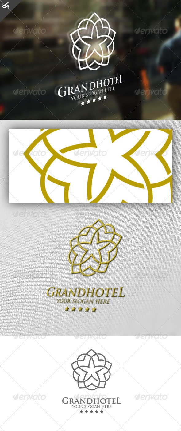 Grandhotel Logo Template - Abstract Logo Templates
