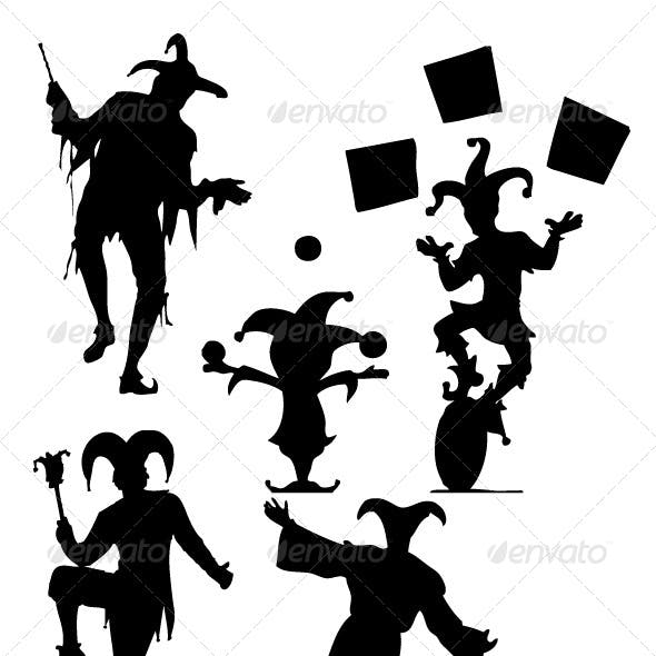 Jester Silhouettes