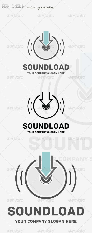 Sound Load Music Logo - Symbols Logo Templates
