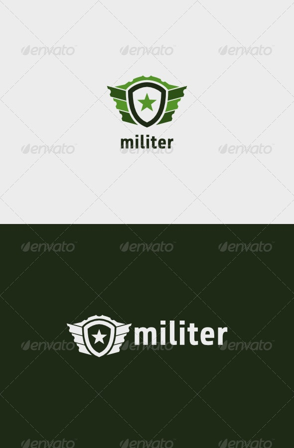 Militer Logo - Objects Logo Templates