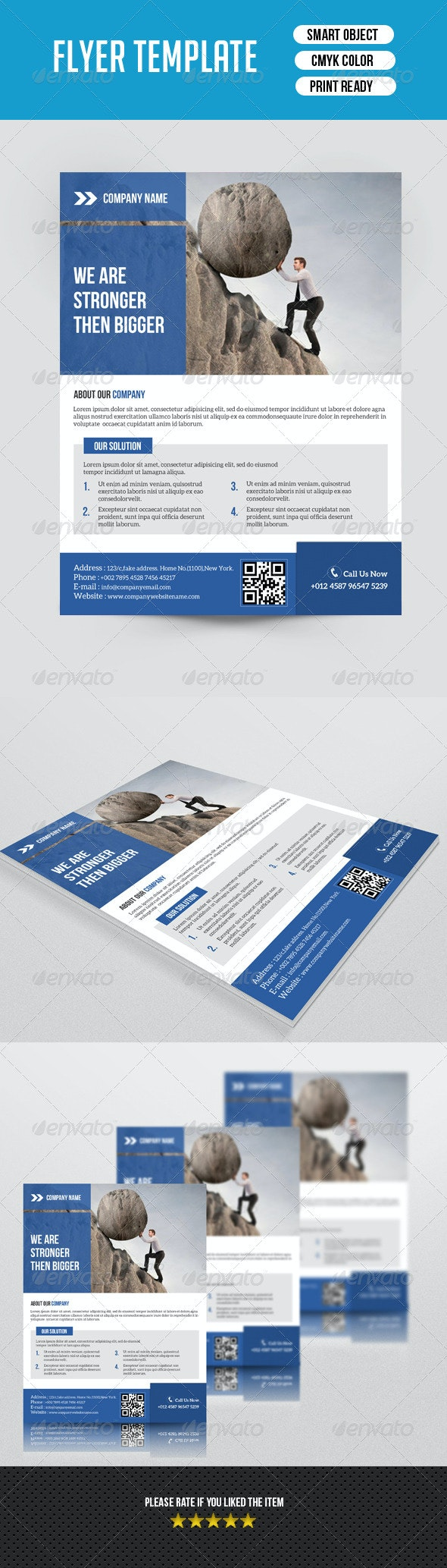 Creative Corporate Flyer-V102 - Corporate Flyers