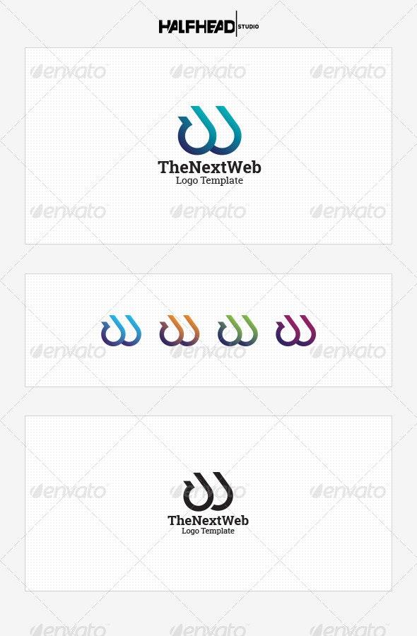 TheNextWeb Logo Template - Letters Logo Templates