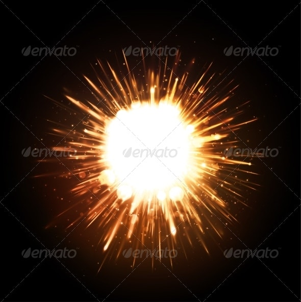 Powerful Explosion - Backgrounds Decorative