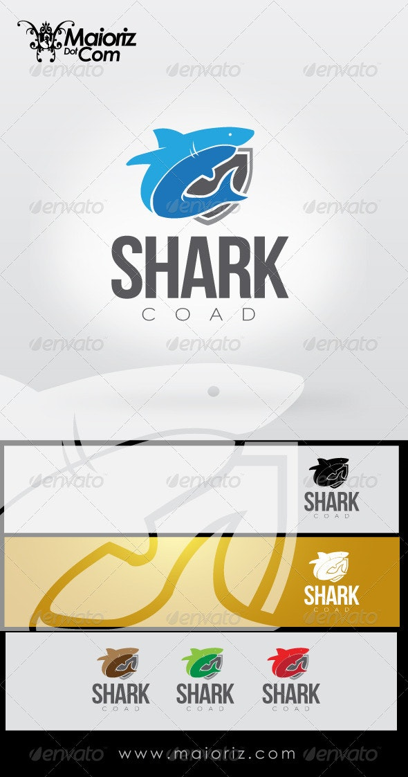 Shark Coat Logo - Animals Logo Templates