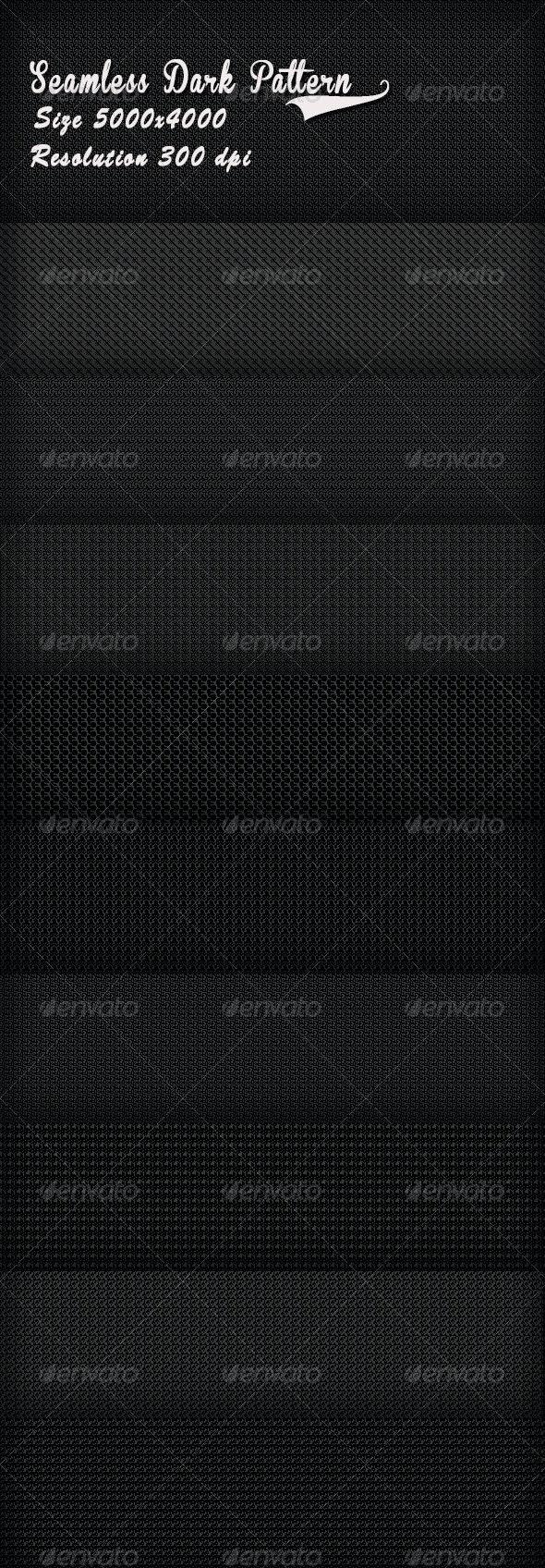 Seamless Dark Pattern - Patterns Backgrounds