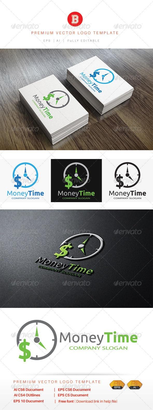 Money Time - Symbols Logo Templates