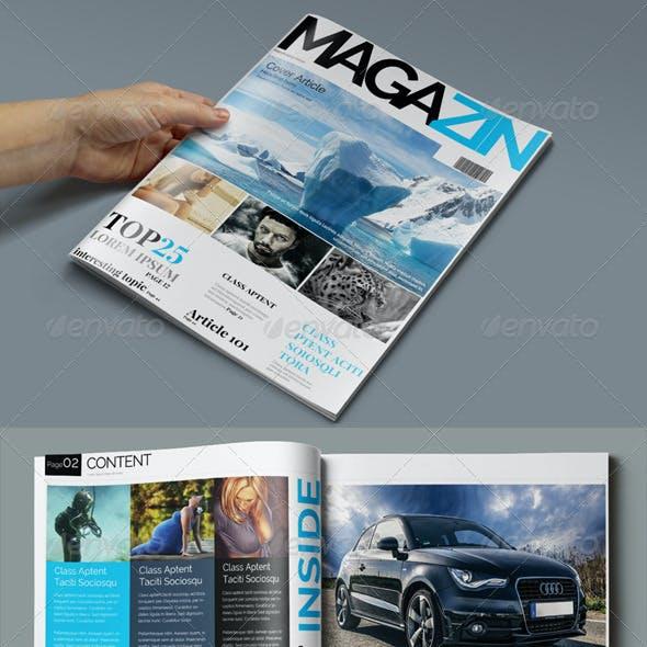 News Magazine Template