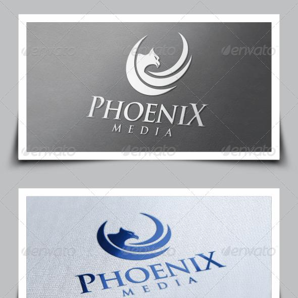 Phoenix Media Logo Template