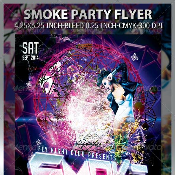 Smoke Party Flyer