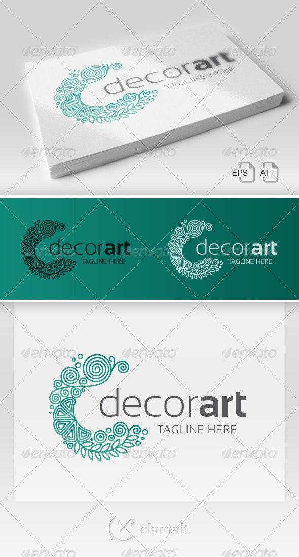 Decor Art Logo - Symbols Logo Templates