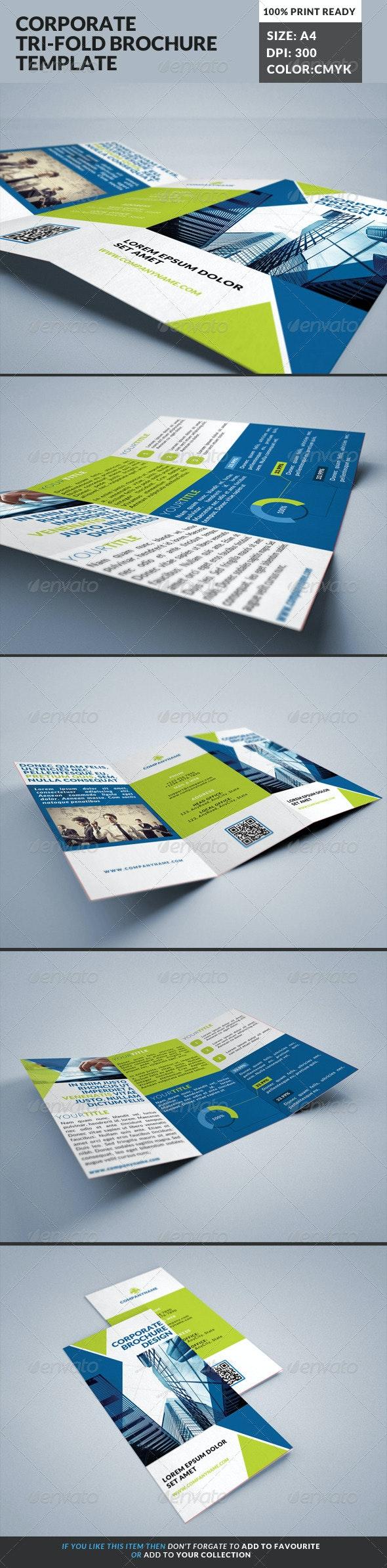 Corporate Tri-Fold Brochures Template 19 - Corporate Brochures