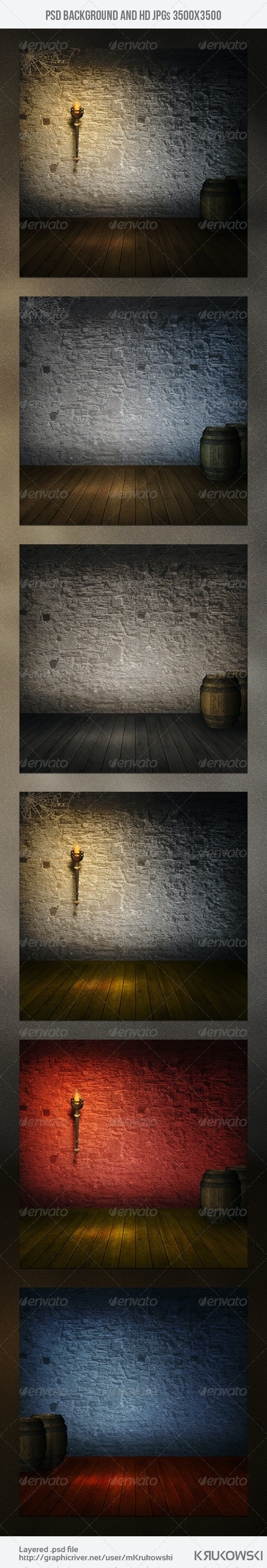 Old Stone Cellar Background - Miscellaneous Backgrounds