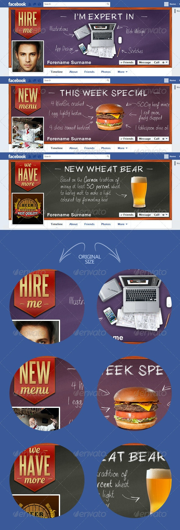 Blackboard  - Facebook Timeline Covers Social Media