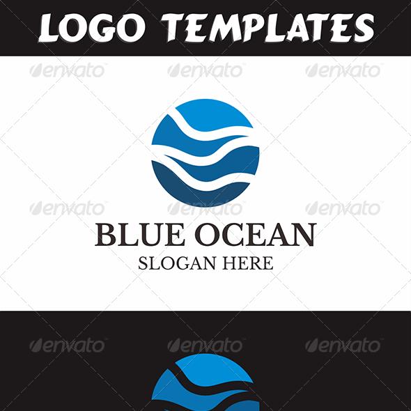 Business & Finance Logo - Blue Ocean