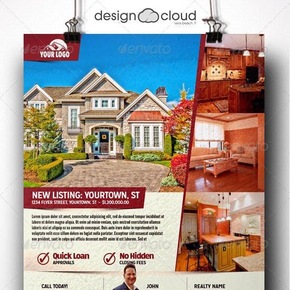 Realtor, Real Estate Flyer Templates