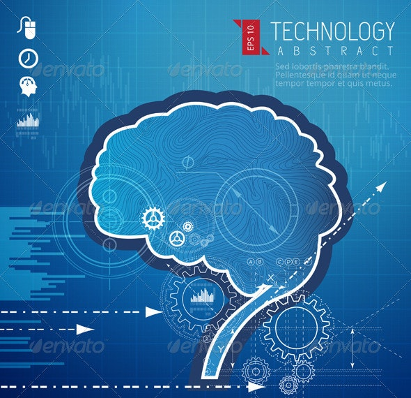 Understanding Engineer's Mind Illustration - Technology Conceptual