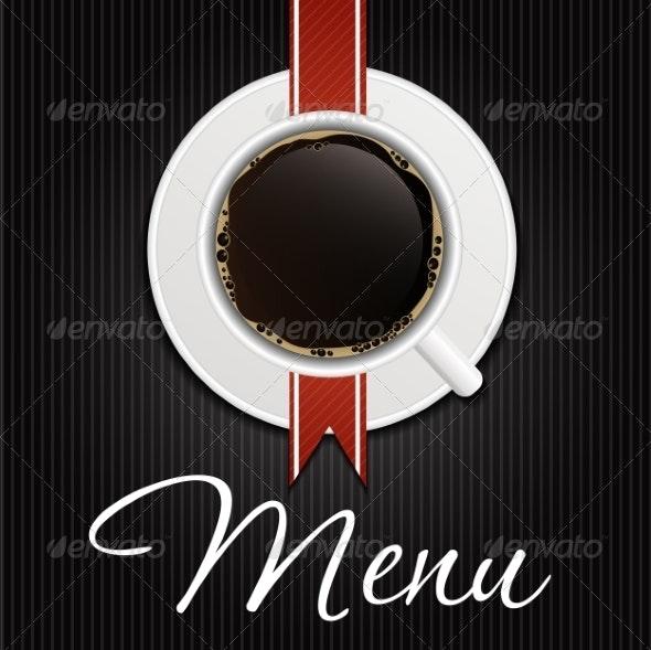 The Concept of Coffeehouse Menu - Miscellaneous Conceptual