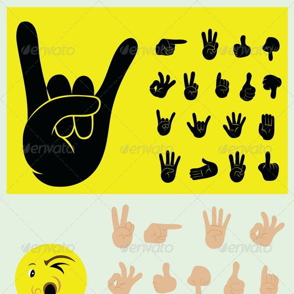 Finger Gesture Set