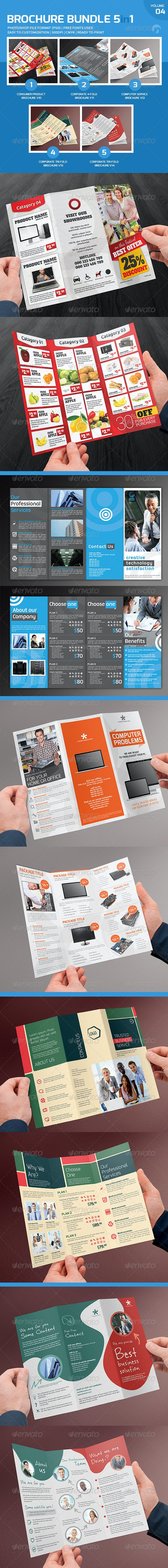 Brochure Bundle 5in1 V4 - Corporate Brochures