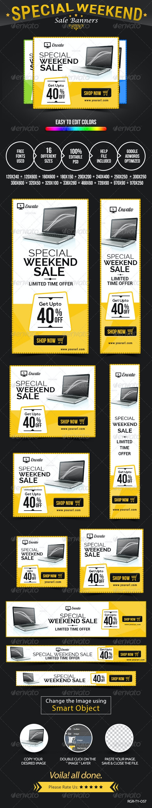 Special Sale Banners - Banners & Ads Web Elements