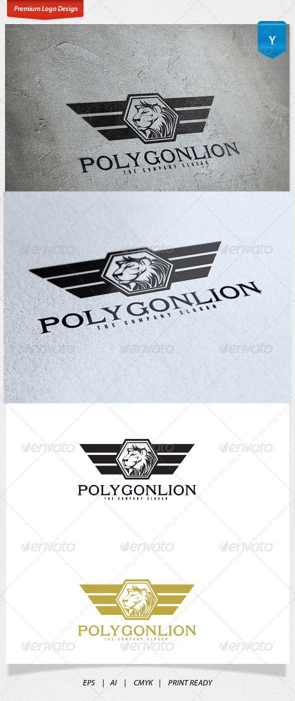 Polygon Lion Logo