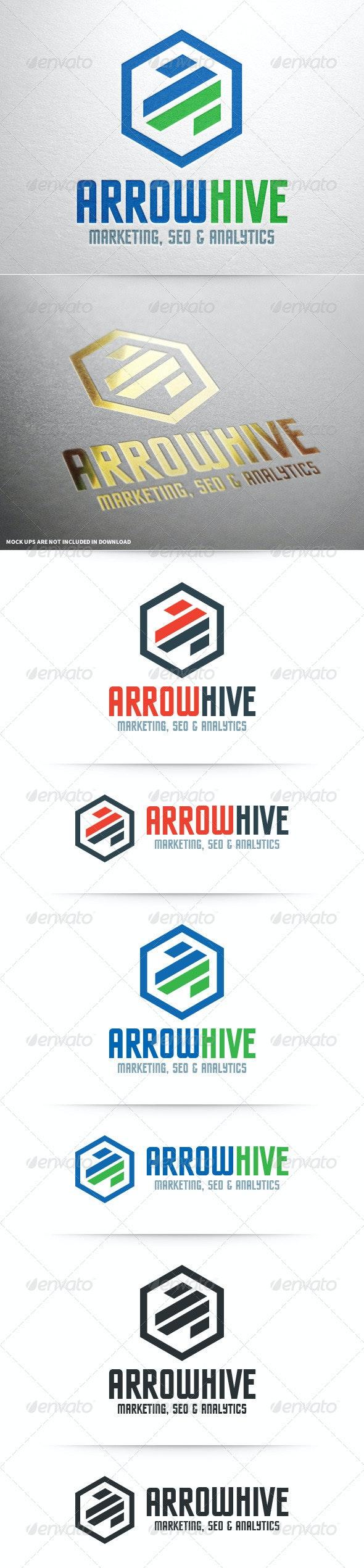 Arrow Hive Logo Template