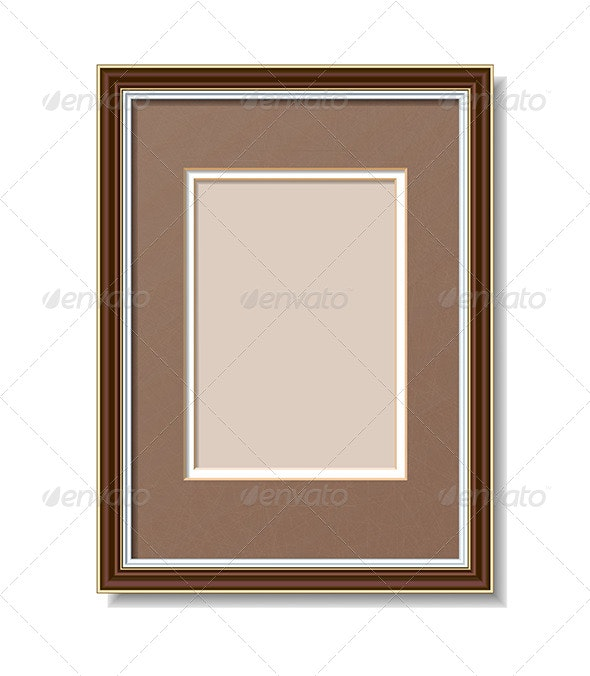 Frame with Mount - Borders Decorative