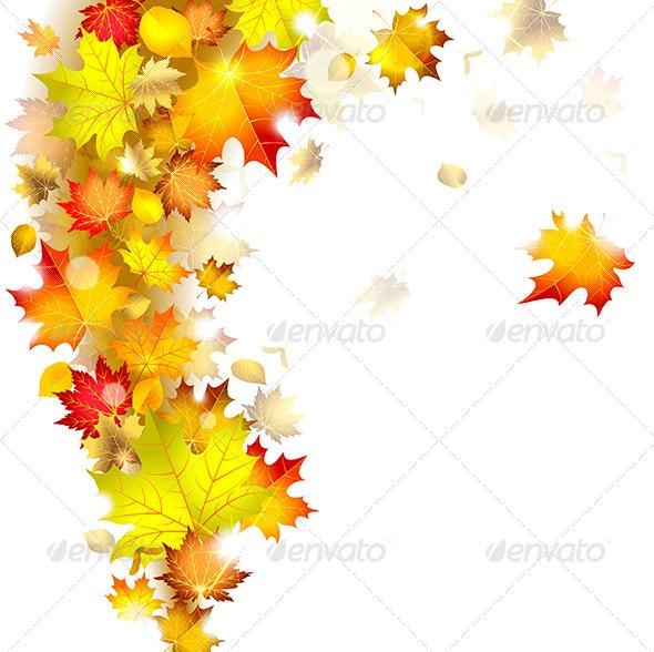 Autumn Leaves - Decorative Vectors