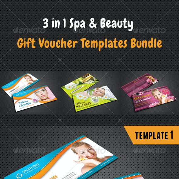 3 in 1 Beauty and Spa Gift Voucher Bundle 01