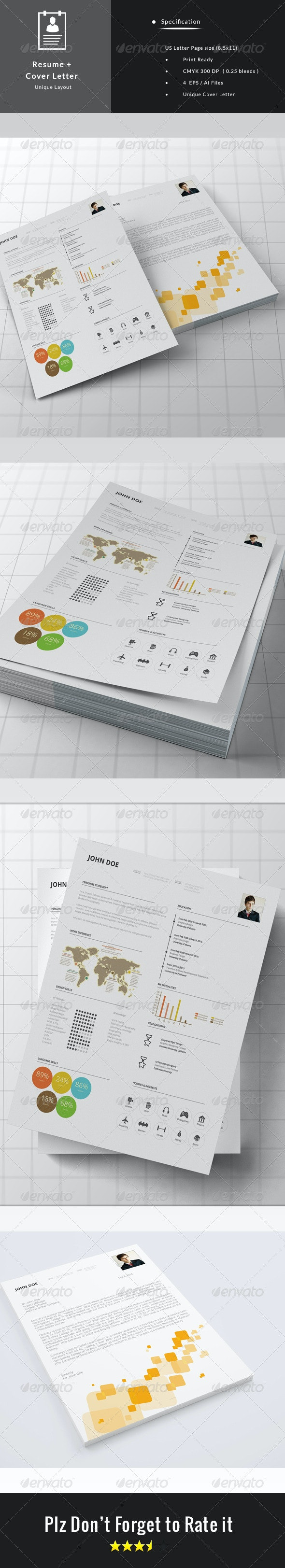 Resume + Cover Letter - Resumes Stationery