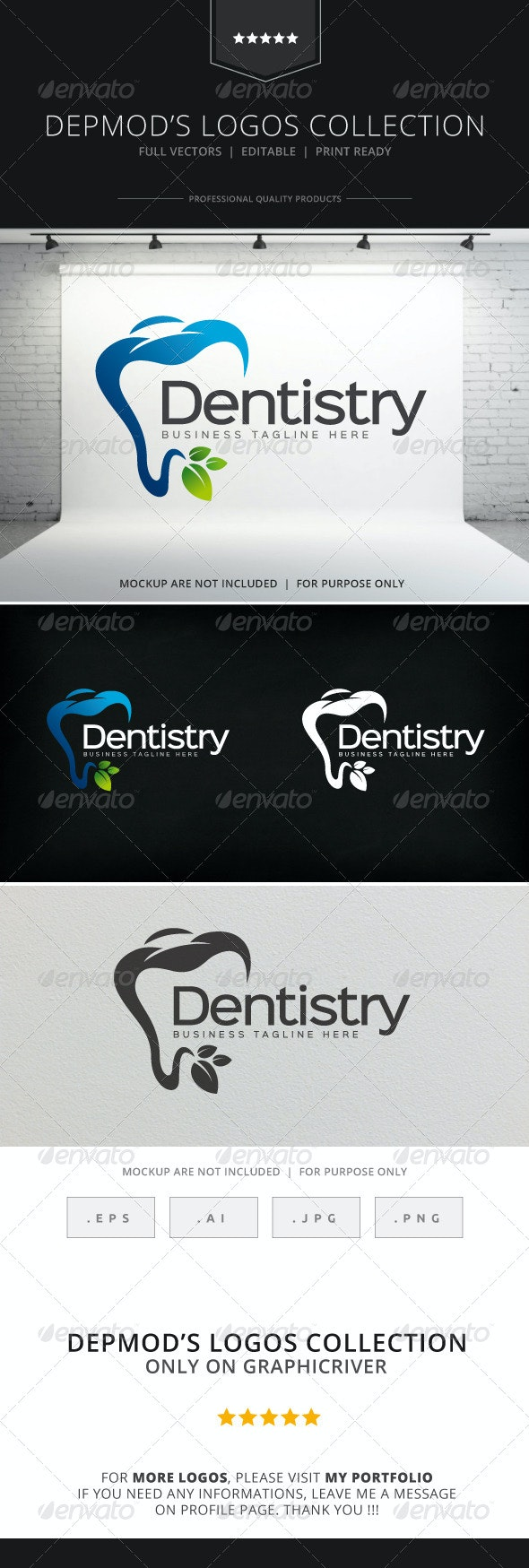 Dentistry Logo - Objects Logo Templates