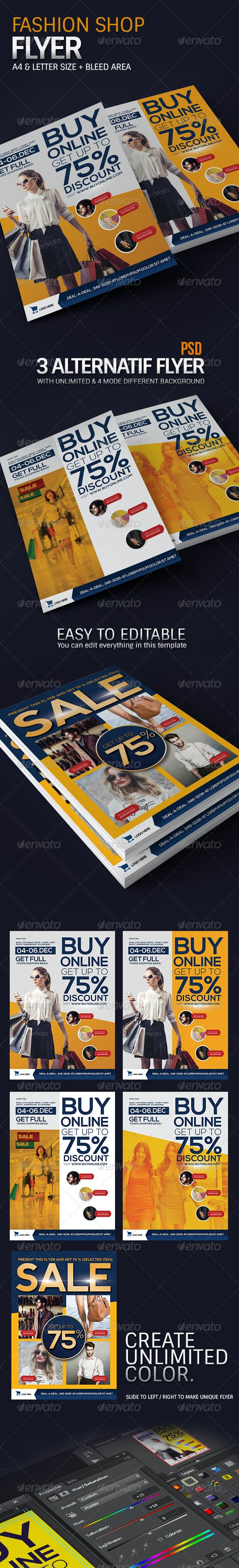 Modern Fashion Promotion Flyer - Events Flyers