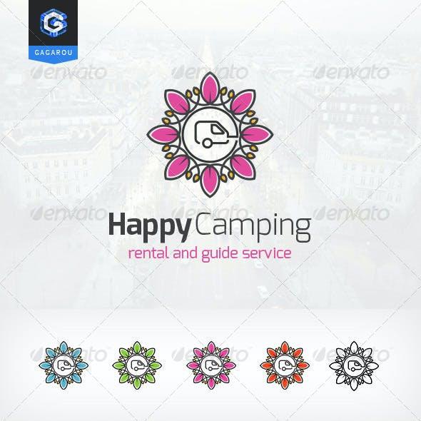 Happy Camping logo