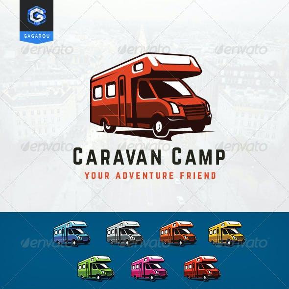 Caravan Camp logo
