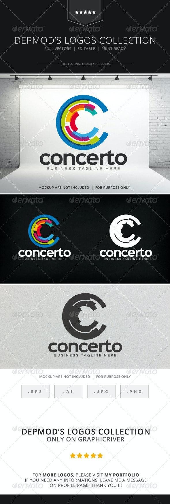 Concerto Logo - Letters Logo Templates