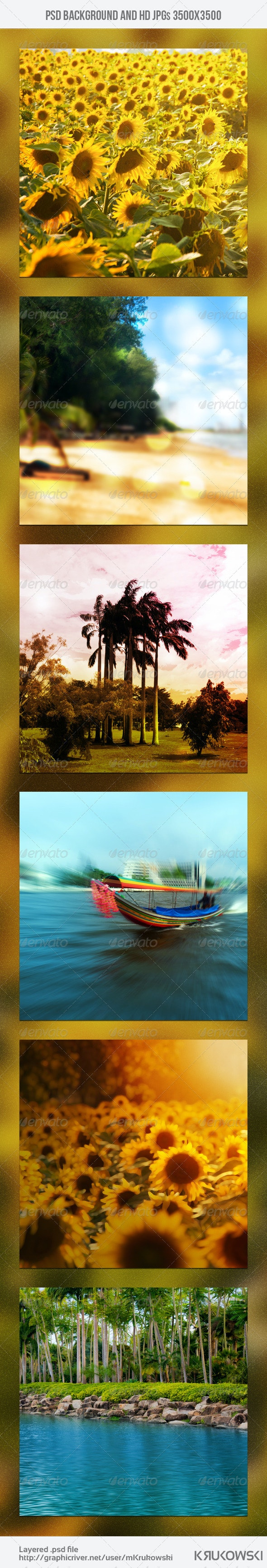 Vacation Background - Nature Backgrounds