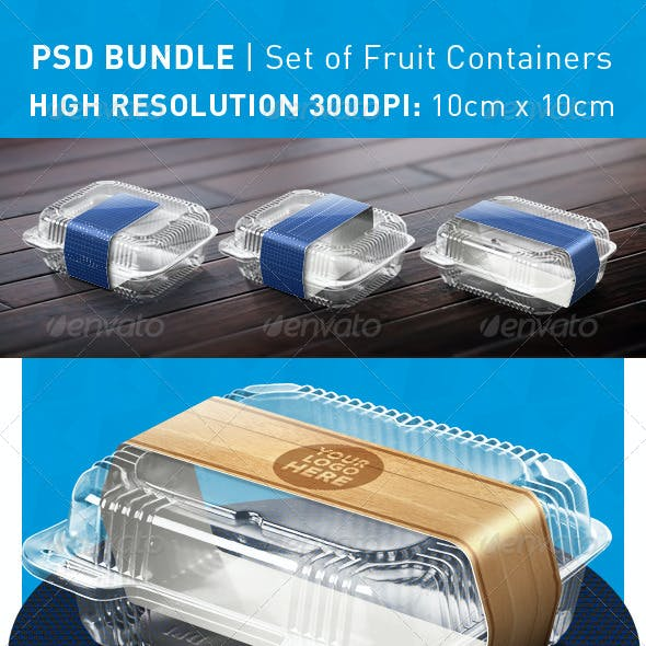 Fruit Container Mockup