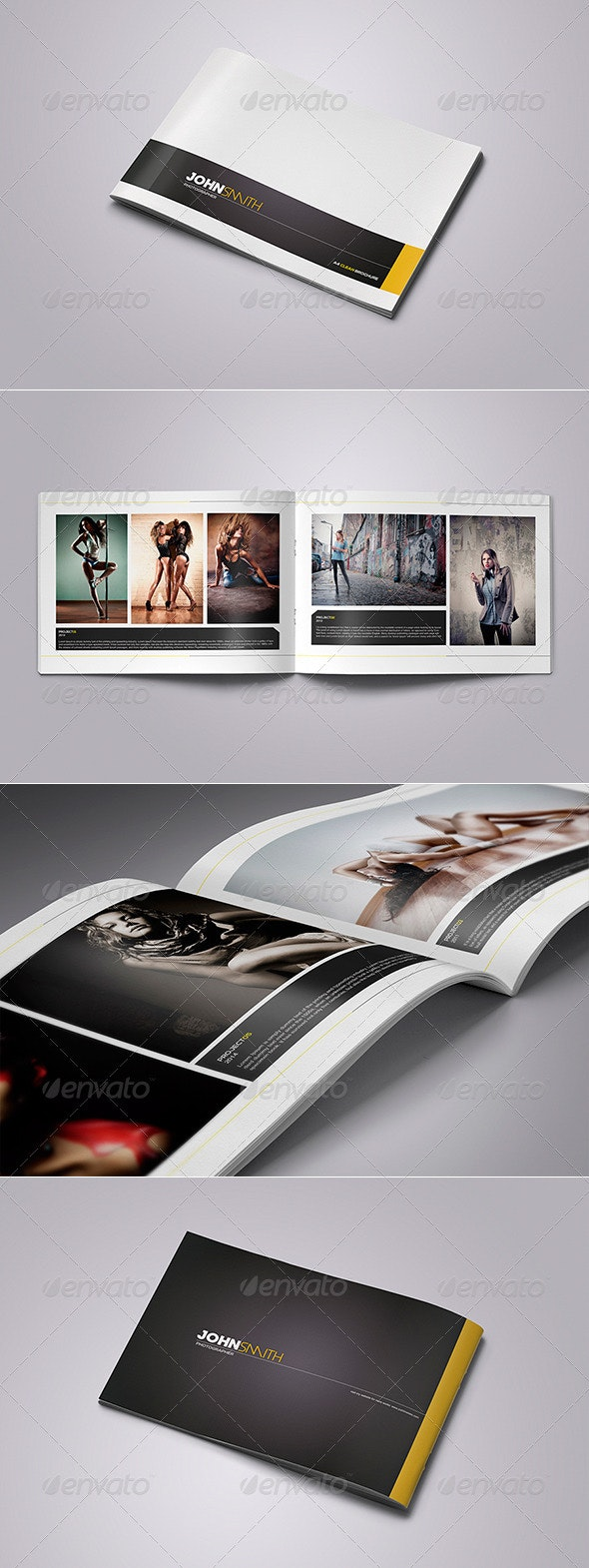 Photographer and Photography Brochure - Portfolio Brochures