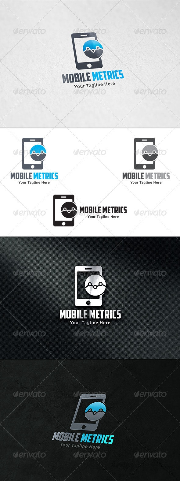 Mobile Marketing - Logo Template - Objects Logo Templates