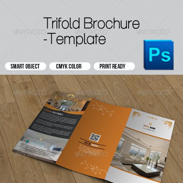 Hotel Business Trifold Brochure