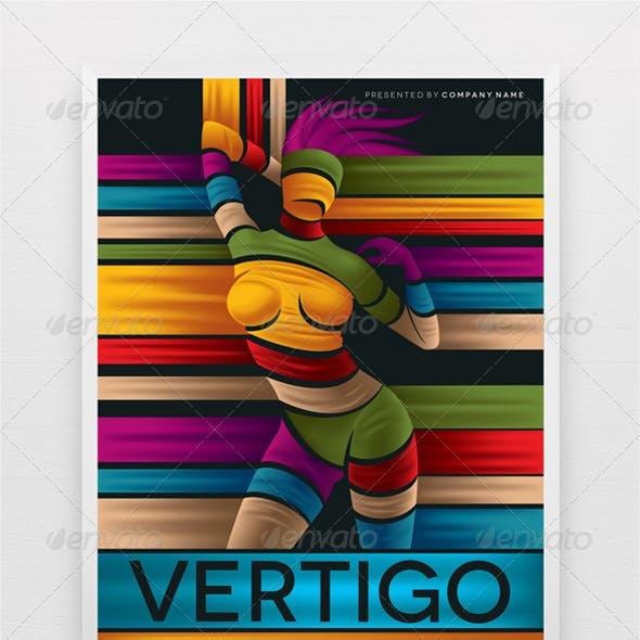 Party Flyer Template Vertigo