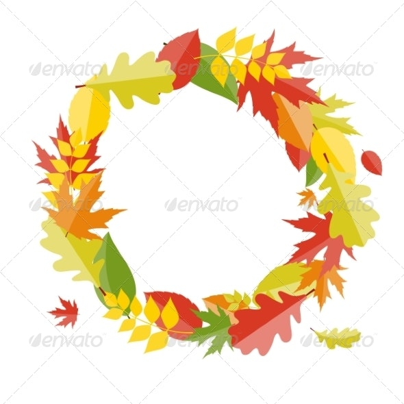 Shiny Autumn Natural Leaves Background - Flowers & Plants Nature