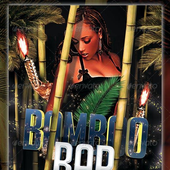 Bamboo Bar Flyer Template