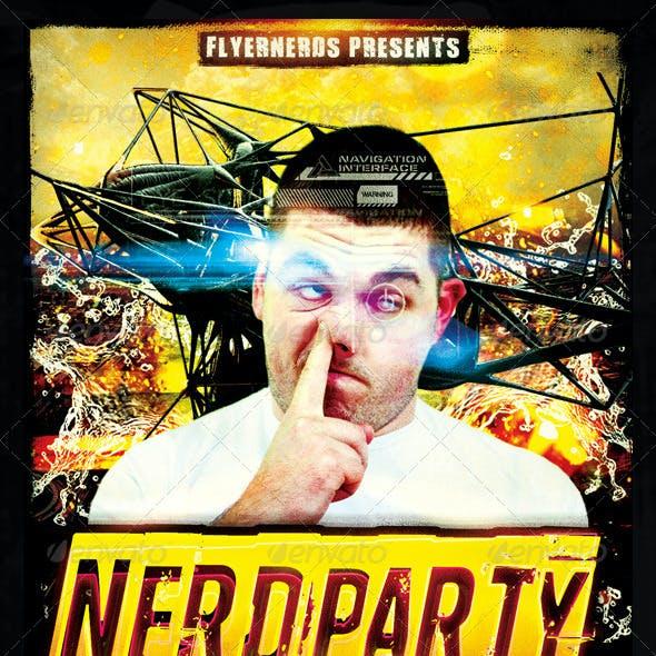 Nerd Party Flyer