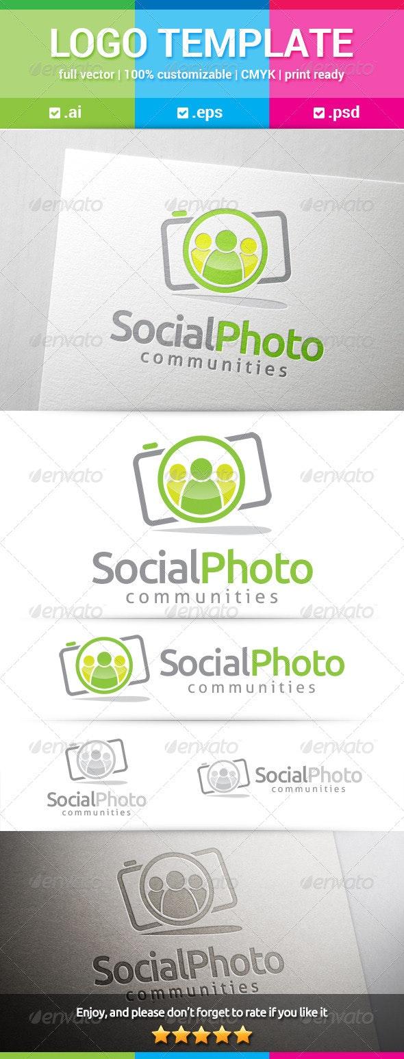 Social Photo Logo - Humans Logo Templates